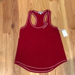 Brand New PJ Salvage Red Tank Top with tags